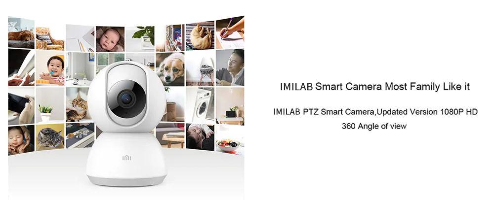 چرخش 360درجه IMI Home Security Camera 1080P