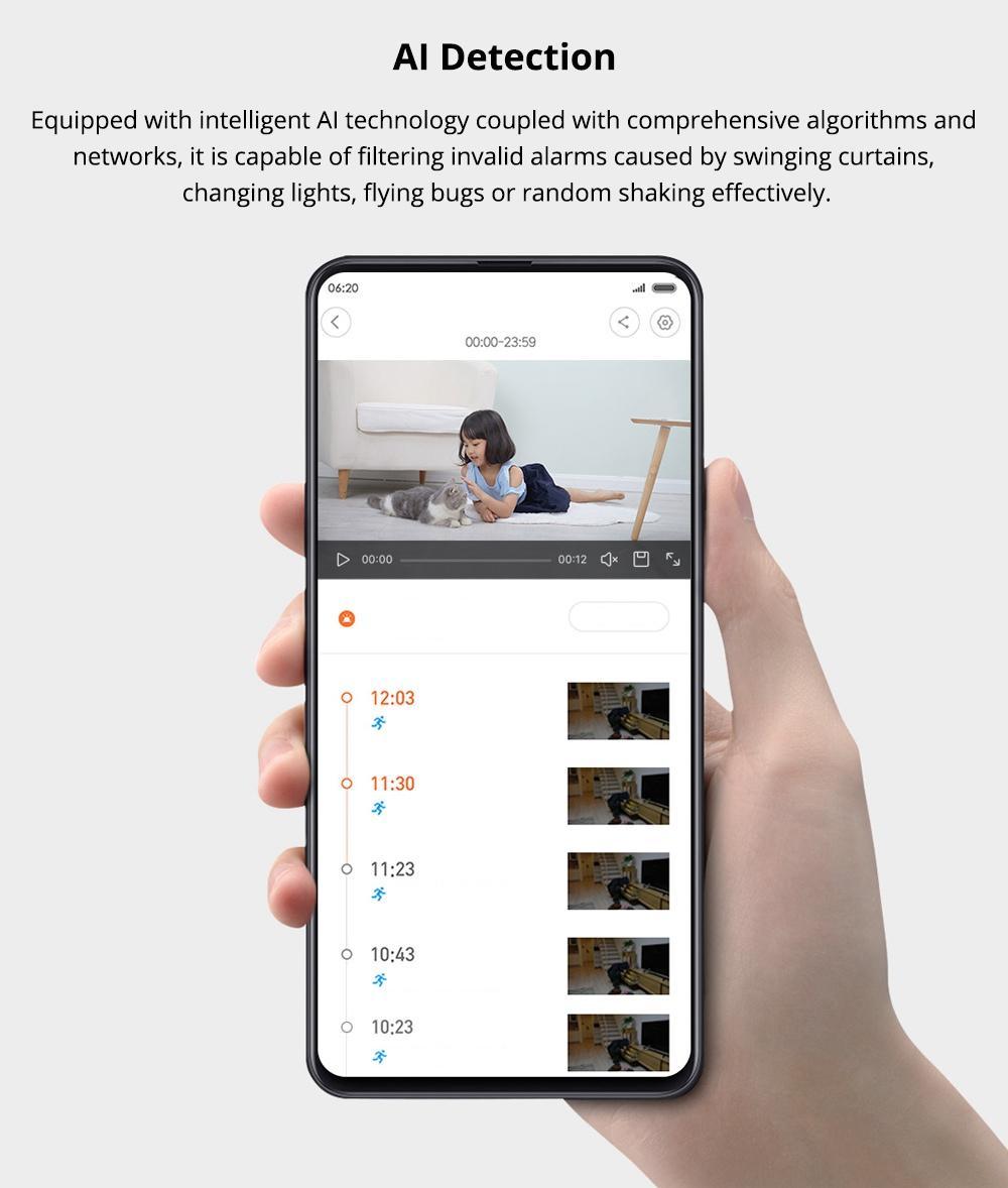 هوش مصنوعی دوربین امنیتی شیائومی IMI CMSXJ16A