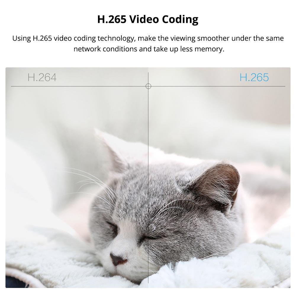 کدیکنگ H.265 در دوربین امنیتی شیائومی IMI CMSXJ16A