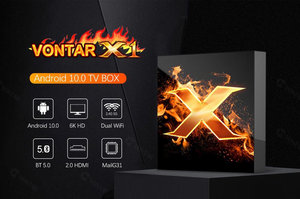 اندروید باکس Vontar X1