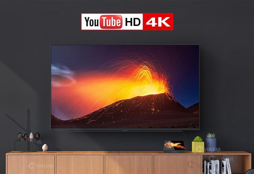 یوتیوب 4k با Vontar X1