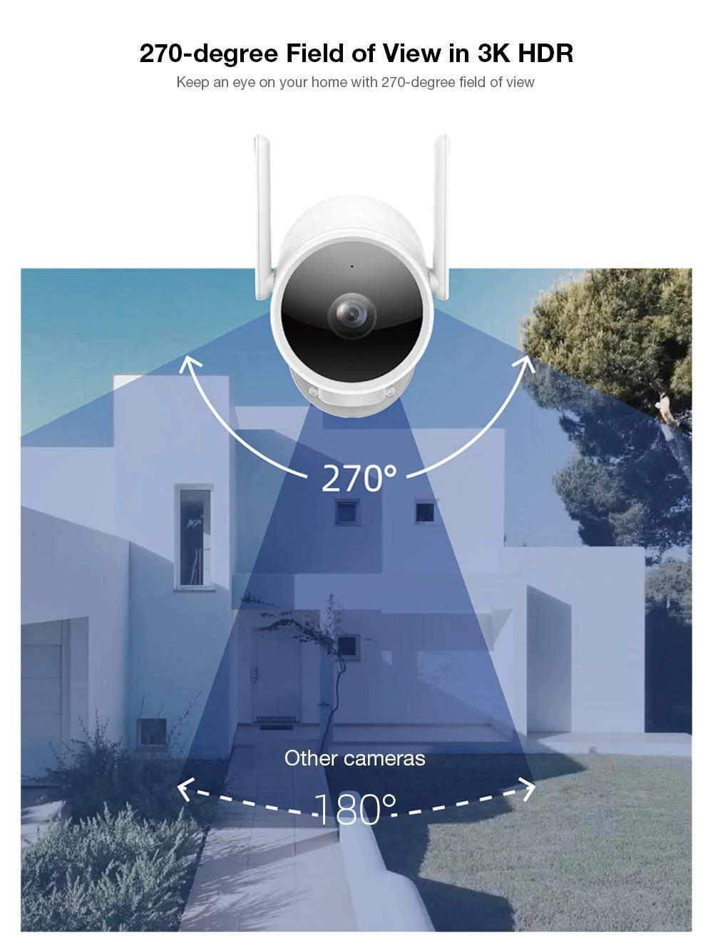 چرخش دوربین شیائومی IMILAB EC3