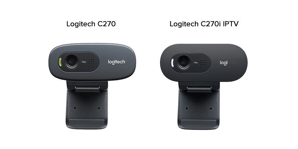 تفاوت وب کم C270 و C270i IPTV لاجیتک