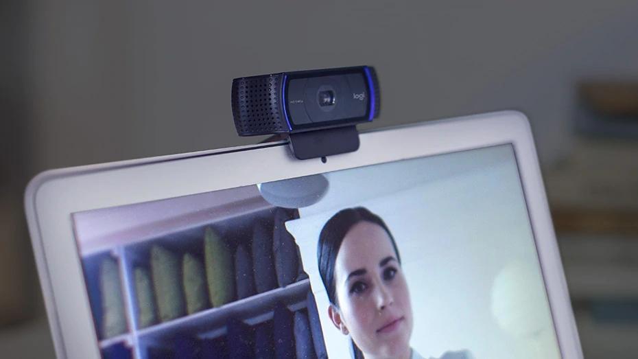 تصویر شفاف وب کم لاجیتک C920 Pro HD