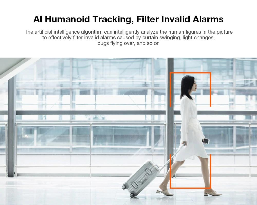 تشخیص انسان دوربین امنیتی شیائومی